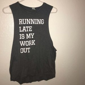Workout top / muscle tees
